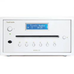 Tivoli Frost White Collection Model CD Player MCDWWB B&H Photo