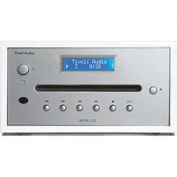 Tivoli Frost White Collection Model CD Player MCDWSB B&H Photo