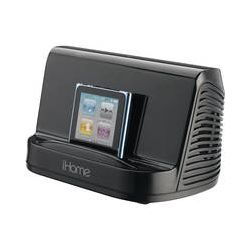 iHome Portable Stereo Speaker System (Black) IHM16B B&H Photo
