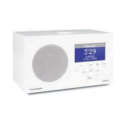 Tivoli Albergo Clock Radio with Bluetooth (White) ALBWHT B&H