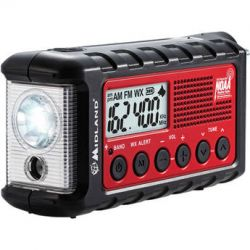 Midland ER300 Emergency Crank Weather Alert Radio ER300 B&H