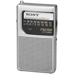 Sony  ICF-S10MK2 Pocket AM/FM Radio ICFS10MK2 B&H Photo Video