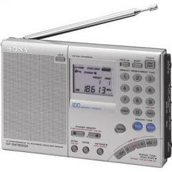 Sony ICF-SW7600GR FM Stereo World Band Receiver Radio