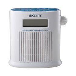 Sony ICF-S79W Weather Band Digital Shower Radio ICFS79W B&H
