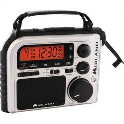 Midland ER102 Emergency Crank Weather Radio ER102 B&H Photo