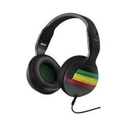 Skullcandy HESH 2.0 Headphones (Rasta Green and Black)