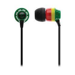 Skullcandy INK'D 2.0 Earbud Headphones (Rasta) S2IKDZ-058 B&H