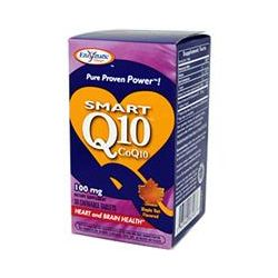Enzymatic Therapy, Smart Q10 CoQ10, Maple Nut Flavored, 100 mg, 30 Chewable Tablets