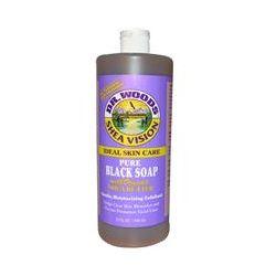 Dr. Woods, Shea Vision, Pure Black Soap, 32 fl oz (946 ml)