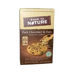 Back to Nature, Dark Chocolate & Oats Granola Cookies, 8.5 oz (240 g)