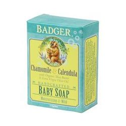 Badger Company, Baby Soap, Chamomile & Calendula, 4 oz (112 g)