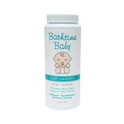 Bathtime Baby, Silky Smooth, Body Powder, 6.0 oz (171 g)