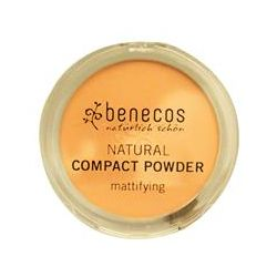 Benecos, Natural Compact Powder, Beige, 9 g