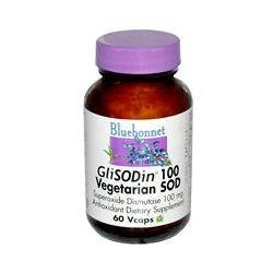 Bluebonnet Nutrition, GliSODin 100, Vegetarian SOD, 100 mg, 60 Vcaps