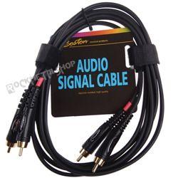 przewód audio BOSTON: 2 x RCA (cinch) - 2 x RCA (cinch) / 1,5m