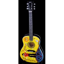 miniaturka gitary GEORGE HARRISON - YELLOW SUBMARINE