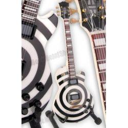 miniaturka gitary ZAKK WYLDE: BULLS EYE