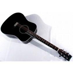 gitara akustyczna MSA CW 170 CZARNA