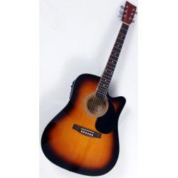 gitara elektro-akustyczna MSA CW-190 SUNBURST