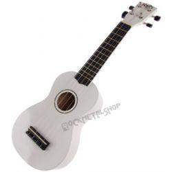 ukulele sopranowe KORALA białe + pokrowiec