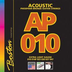 struny do gitary akustycznej BOSTON AP-010 PHOSPHOR BROZNE /010-047/