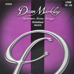 struny do gitary elektrycznej DEAN MARKLEY 2504 LHBT NickelSteel Medium /010-052/