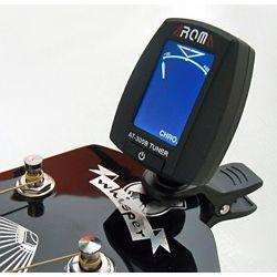 tuner / stroik gitarowy AROMA AT-300B uniwersalny, na klips