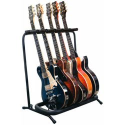 stojak estradowy na 5 gitar GLEAM GM-008 - do gitar elektrycznych i basowych