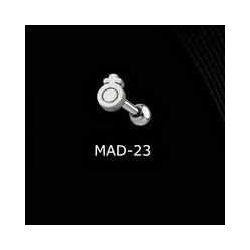 KOLCZYK DO JęZYKA WOMEN grubość 1,6mm średnica kulki 5mm [MAD-23] PRC-1045