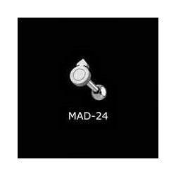 KOLCZYK DO JęZYKA MEN grubość 1,6mm średnica kulki 5mm [MAD-24] PRC-1046