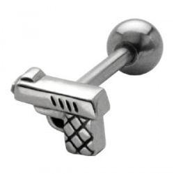KOLCZYK DO JęZYKA SPLUWA grubość 1,6mm średnica kulki 5mm [MAD-39] PRC-1061