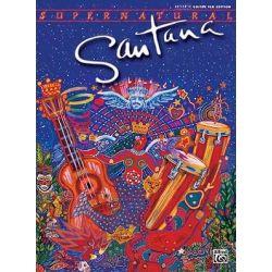 Supernatural Santana, Authentic Guitar Tab by Carlos Santana, 9780769289700.