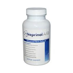 Arthur Andrew Medical, Neprinol AFD, Advanced Fibrin Defense, 500 mg, 150 Capsules