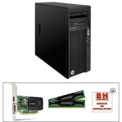 HP Z230 F1L54UT Workstation with 12GB RAM and Quadro K600 B&H