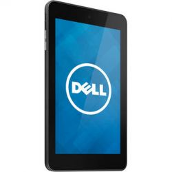 Dell 16GB Venue 7 Tablet (Wi-Fi Only, Black) VEN7-1666BLK B&H