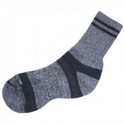 Incredisocks - Hiking Socks (Grey) - Large