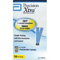 Abbott Diabetic Care Precision Xtra Test Strips 50 Ct