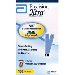 Abbott Diabetic Care Precision Xtra Test Strips 100 Ct