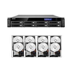 Qnap 32TB (8 x 4TB) TS-879U-RP 8-Bay IP-SAN/ NAS SATA 6G/ USB