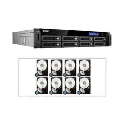 Qnap 24TB (8 x 3TB) TS-879U-RP 8-Bay NAS Storage Kit with Hard