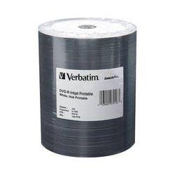 Verbatim DVD-R 4.7GB 16x Inkjet Printable Disc (100-Pack) 97016