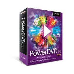 CyberLink PowerDVD 14 Ultra Power Media Player DVD-EE00-RPU0-00