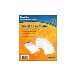 Merit Line  CD Jewel Case Mailer (10) 153071 B&H Photo Video