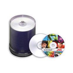 JVC JDMR-SPY-SB8 Inkjet DVDs (Silver, 100 Pack) JDMR-SPY-SB8 B&H