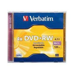 Verbatim  DVD+RW 4x Disc (1) 94520 B&H Photo Video