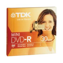 "TDK DVD-R Mini 3"" (8cm) Recordable Disc 1.4GB 2x 48569 B&H"