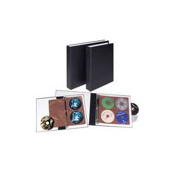 Lineco  463-D4BK Perma/Dur CD/DVD Albums 463-D4BK B&H Photo Video