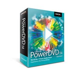 CyberLink  PowerDVD 14 Standard DVD-0E00-IWS0-00 B&H Photo Video