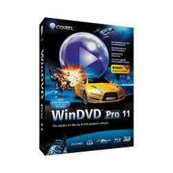 Corel WinDVD Pro 11 DVD and Blu-ray Player ESDWDPR2011EN B&H