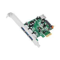 SIIG 4-Port Dual Profile PCI Express USB 3.0 Host JU-P40311-S1